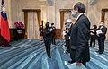 11.09 總統主持「新任行政院、司法院、考試院及中央研究院政務人員宣誓典禮」 (50581354473).jpg