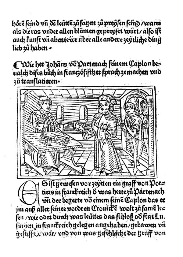 1474 Melusine Ausgabe Augsburg Johann B%C3%A4mler Blatt 2