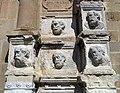 14 Santa Maria de Calella, retaule dels Apòstols, a la façana oest.JPG