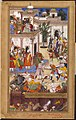 1561-The Submission of the rebel brothers Ali Quli and Bahadur Khan-Akbarnama.jpg