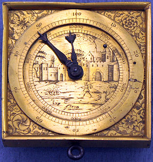 Pedometer - Historical pedometer, Southern Germany, 1590
