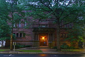 Yale University Collection of Musical Instruments - Image: 15 Hillhouse Avenue Dusk