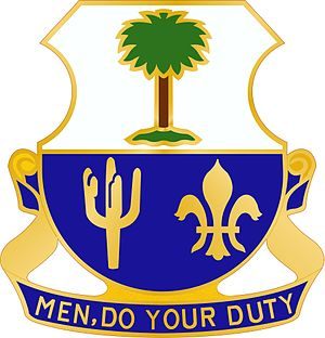 163rd Infantry Regiment (United States) - Image: 163 Inf Rgt DUI