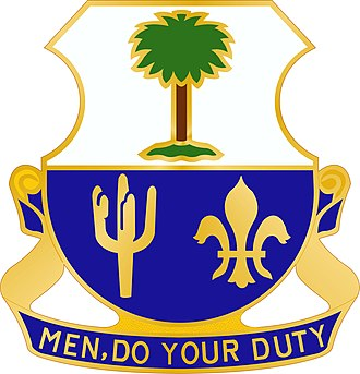163rd Infantry Regiment (United States) - Image: 163 Inf Rgt DUI