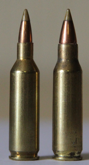 .221 Remington Fireball - Image: 17fireballand 221fireball