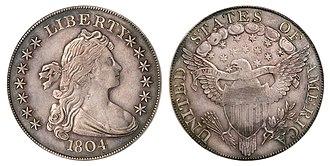 1804 dollar - A Class III 1804 dollar