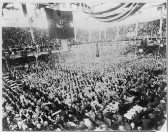 1896 Republican National Convention - Inside of the convention hall