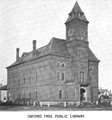 1899 Oxford public library Massachusetts.png