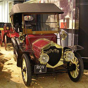 Rover 20 - Tourer first registered December 1907