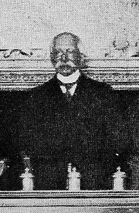 1909-04-24, Blanco y Negro, El ilustre juriconsulto italiano Pasquale Fiore, conferenciante en la Academia de Jurisprudencia, Cifuentes (cropped), Pasquale Fiore.jpg