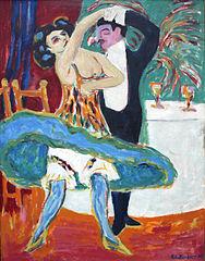 Vaudeville Theater (English Dancing Couple)