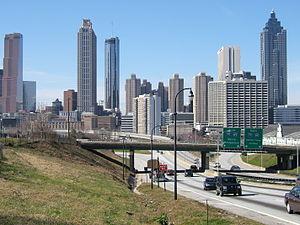 Atlanta, Georgia - Downtown Skyline.