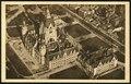 1912-03-23 Hannover, Blick auf das neue Rathaus aus 200 m Höhe, Ballon-Aufnahme Wilhelm Riedel, Bildseite.tif