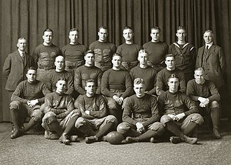 1918 Michigan Wolverines football team - Image: 1918 Michigan Wolverines football team