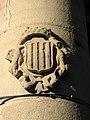 191 Escut de Granollers, en una columna de la Porxada.jpg
