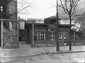 Loewe (electronics) - Image: 1923 Loewe headoffice