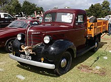 1939 Dodge Pickup Series Tc News >> Dodge T V W Series Wikipedia