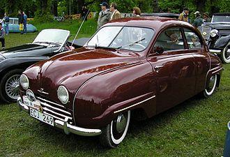 Saab 92 - 1955 Saab 92B