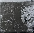 1964年,泰安县角峪公社纸房水库东西干渠施工现场.jpg