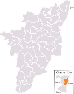 Chennai Central (Lok Sabha constituency) - Chennai North constituency as laid out by 1971 Delimitation. The boundaries for this constituency lasted until 2004 election, which was then replaced by 2008 Delimitation.