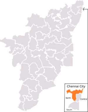 Chennai North (Lok Sabha constituency) - Chennai North constituency as laid out by 1971 Delimitation. The boundaries for this constituency lasted until 2004 election, which was then replaced by 2008 Delimitation.