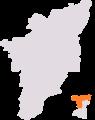 1971 delimitation chennai north lok sabha constituency.png