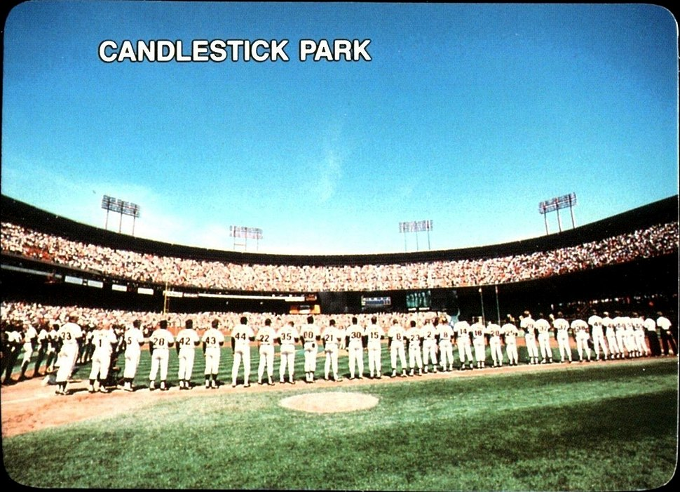 1987 Mother's Cookies - Candlestick Park