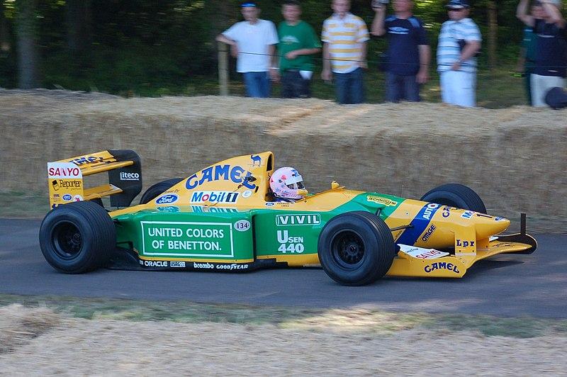 File:1992 Benetton-Ford B192 Goodwood, 2009.JPG
