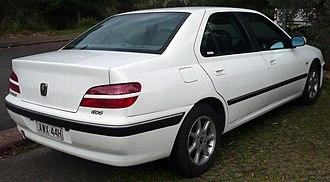 Peugeot 406 - Post facelift Peugeot 406 sedan (Australia)