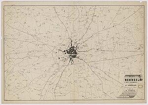 1fi77-Plan de Rennes et des environs en 1857.jpg