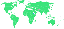 2000 Summer Olympic games countries