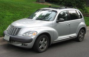 2001-2005 Chrysler PT Cruiser photographed in USA.