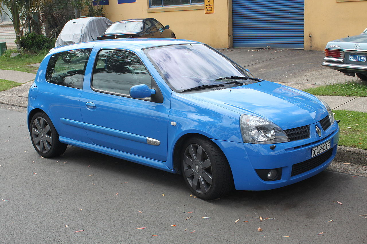 File 2005 Renault Sport Clio X65 Phase 3 182 Cup 3 Door Hatchback 23201994545 Jpg Wikimedia Commons