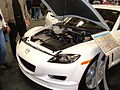 2005 white Mazda RX-8 engine.JPG