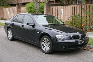 BMW 7 Series (E65) - Image: 2006 BMW 730d (E65) sedan (2015 07 09) 01