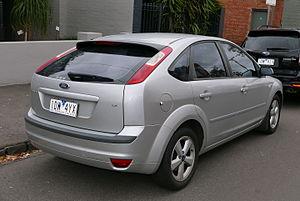 Ford Focus (second generation, Europe) - 5-door hatchback (pre-facelift)