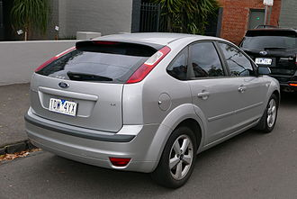 Ford Focus (second generation, Europe) - 5-door hatchback (pre-facelift)