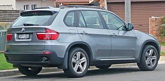 BMW X5 (E70) - Pre-facelift BMW X5 3.0d (Australia)