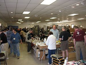 Armor Modeling and Preservation Society - The vendor area at the 2007 International show