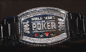 2008 World Series of Poker - The 2008 World Series of Poker Championship Bracelet