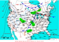 2009-04-27 Surface Weather Map NOAA.png