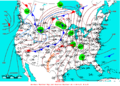 2009-05-13 Surface Weather Map NOAA.png