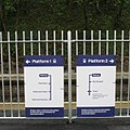 2009 at Penryn station - direction signs.jpg