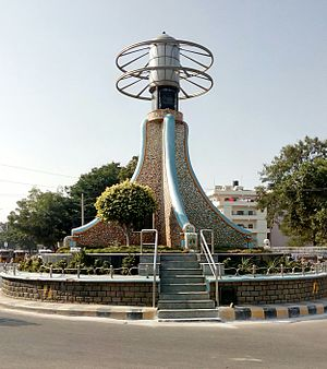 Kadapa district - Pylon commemorative of 200 years, kadapa
