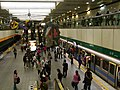 20101205 Upper platform in Guting Station, Taipei Metro 台北捷運古亭站上層月台.jpg