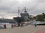 2013-08-30 Севастополь. Вспомогательное судно A512 Mosel ВМС Германии (1).JPG