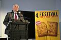2014-03-15 Festival der Philosophie, Hannover, 58, 100. Jahrestag Erster Weltkrieg, (08) Professor Rolf Wernstedt, Präsident der Gottfried-Wilhelm-Leibniz-Gesellschaft im Künstlerhaus (Maestro-Saal).jpg