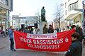 2014-03-29 Für das schöne Leben, Demonstration am Schillerdenkmal Georgstraße Ecke Schillerstraße Gegen Rassismus & Islamismus.jpg