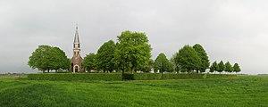 Echten, Friesland - The church and cemetery of Echten