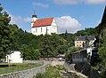 20140624040DR Tharandt Bergkirche + Deutsches Haus 05.jpg